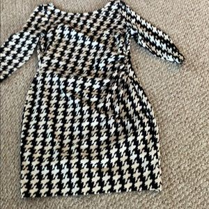 Houndstooth dress 16